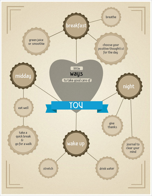 self help infographic